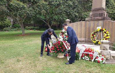 В Сиднее прошли торжественные мероприятия в честь 75-й годовщины Победы