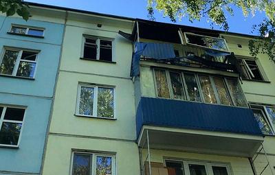 При взрыве газа в жилом доме в Казани пострадал один человек