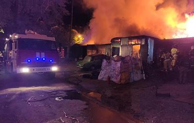 """В Ульяновске ликвидировали открытое горение в кафе """"7 Пятниц"""""""