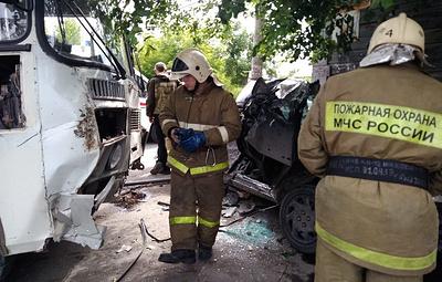 В Кургане четыре человека пострадали при ДТП с автобусом