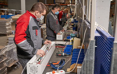 Производство в Подмосковье выпускает по 700 рециркуляторов каждый день