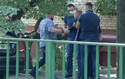 ФСБ распространила видео задержания советника главы Роскосмоса