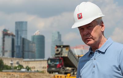 Собянин сообщил, что проспект Генерала Дорохова планируется закончить уже в этом году
