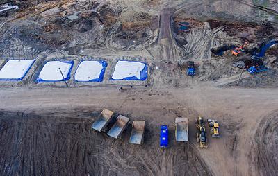 В Норильске завершили активные работы по сбору грунта на месте разлива ГСМ