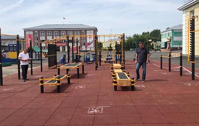 Новые площадки ГТО построены в Приамурье, Кировской и Челябинской областях
