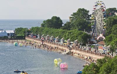 Погода в Приморье позволила открыть купальный сезон