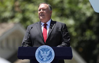 Помпео заявил, что прежняя система взаимодействия США и Китая потерпела крах