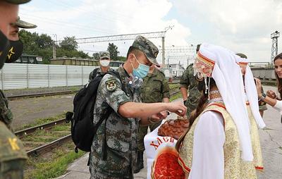 Подразделения Народно-освободительной армии КНР прибыли в Россию для участия в АрМИ-2020