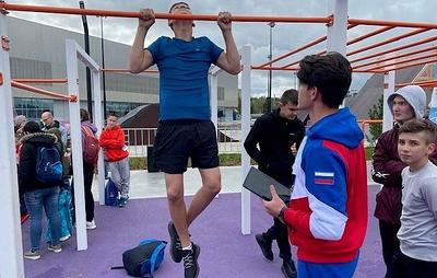 Матыцин посетил площадку ГТО на Urban Games в Казани