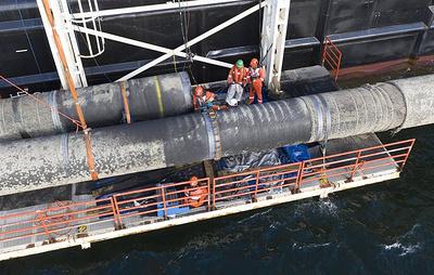 Ассоциация страховщиков судовладельцев отказалась от сотрудничества с Nord Stream 2