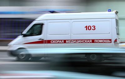 При обрушении надземного пешеходного перехода в Подмосковье пострадали 13 человек
