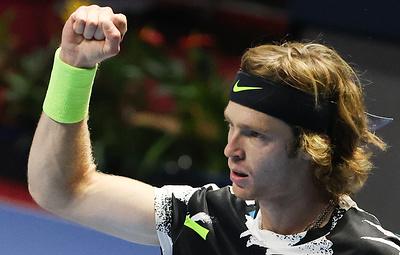 Рублев сыграет с Чоричем в финале теннисного турнира в Санкт-Петербурге