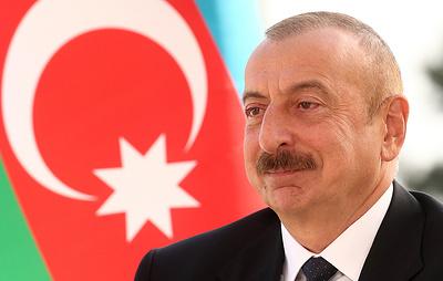 Алиев: Азербайджан готов остановить боевые действия, если Армения прекратит огонь