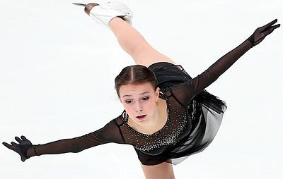 Щербакова выиграла этап Кубка России по фигурному катанию в Сочи