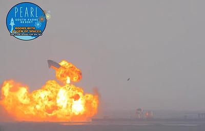 SpaceX удалось посадить космический корабль Starship по окончании летных испытаний