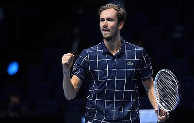 Российский теннисист Даниил Медведев станет второй ракеткой мира 15 марта