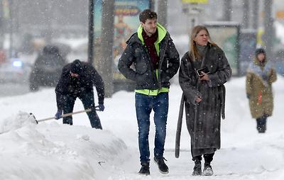В Гидрометцентре рассказали, когда закончится снегопад в Москве