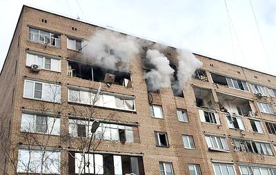 Пожар после взрыва газа в жилом доме в Химках потушили