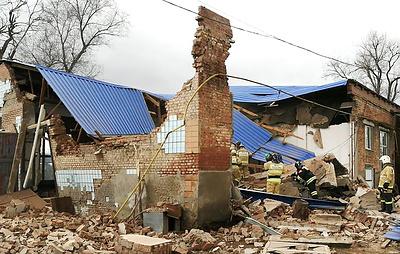 Два человека погибли при обрушении здания в Ростовской области