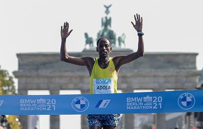 Адола и Гебреселасси стали победителями Берлинского международного марафона
