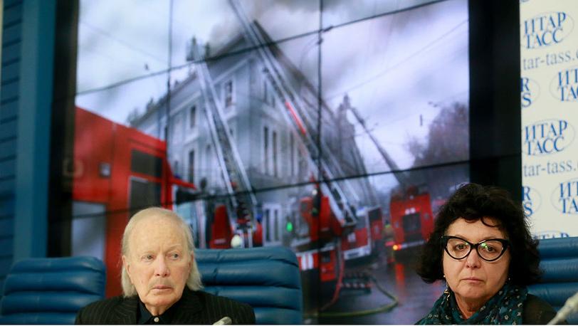 Альберт Филозов и Екатерина Кретова. Фото ИТАР-ТАСС/Павел Смертин