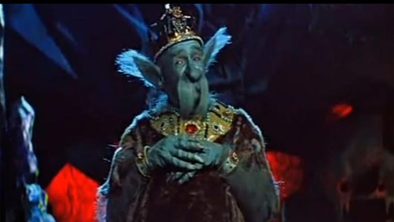"""К/ф """"Варвара-краса, длинная коса"""". В роли царя Чудо-Юдо. 1969 год. Стоп-кадр video.yandex.ru/aslar"""