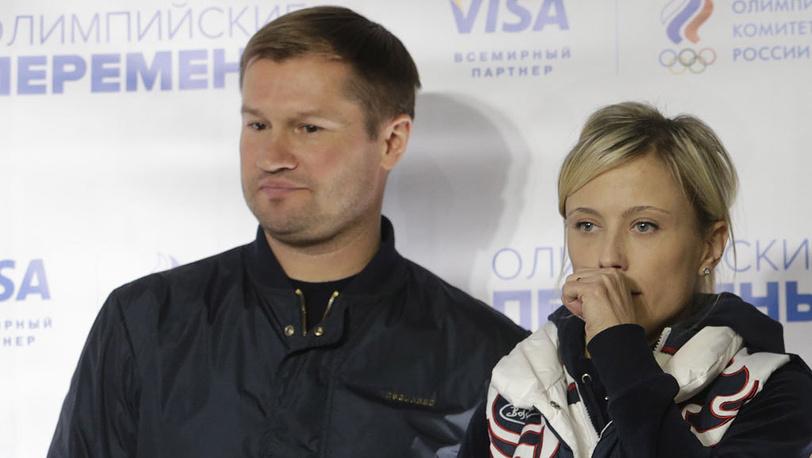 Алексей Немов и Елена Замолодчикова. Фото ИТАР-ТАСС/ Геннадий Хамельянин