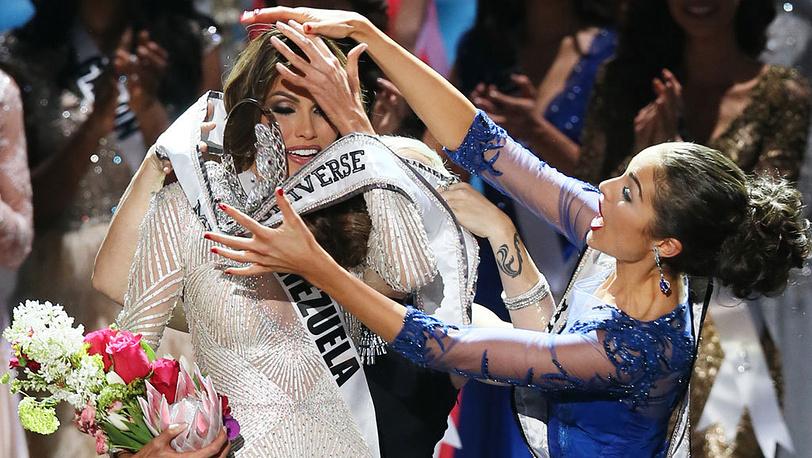 Мисс Вселенная-2013 Габриэла Ислер (Венесуэла). EPA/SERGEI ILNITSKY