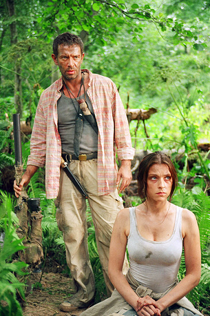 """Кадр из фильма """"Охота на пиранью"""". 2006 год"""