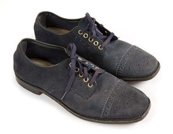 Голубые ботинки Элвиса Пресли
