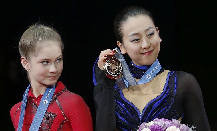 Юлия Липницкая и Мао Асадо