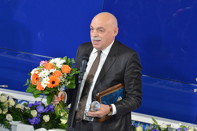 Вице-президент Европейского союза спортивной прессы Лев Россошик