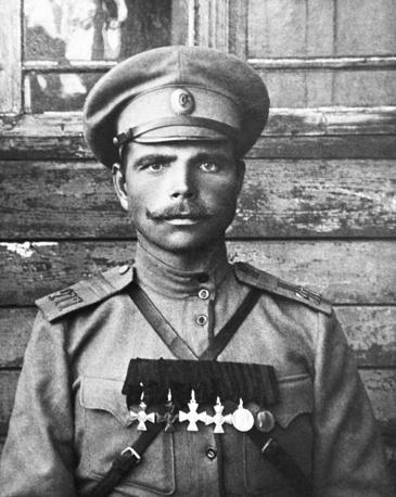 Подпрапорщик Переяславского пехотного полка Николай Филиппович Федорчук. 1914 год
