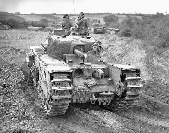 """Пехотный танк Mk IV """"Churchill"""" (A22) .1944 г."""