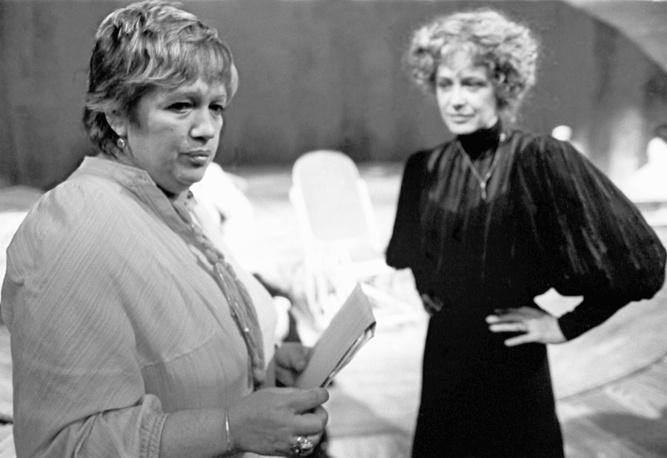 Галина Волчек и Марина Неелова, 1983