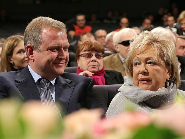 Галина Волчек и Сергей Капков, 2013