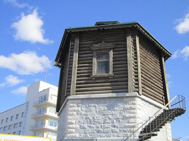 Помещение бывшей квартиры в Водонапорной башне