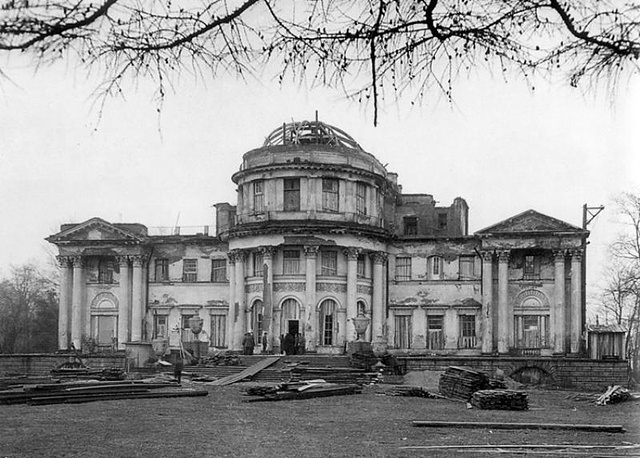 Елагин дворец после Великой Отечественной войны