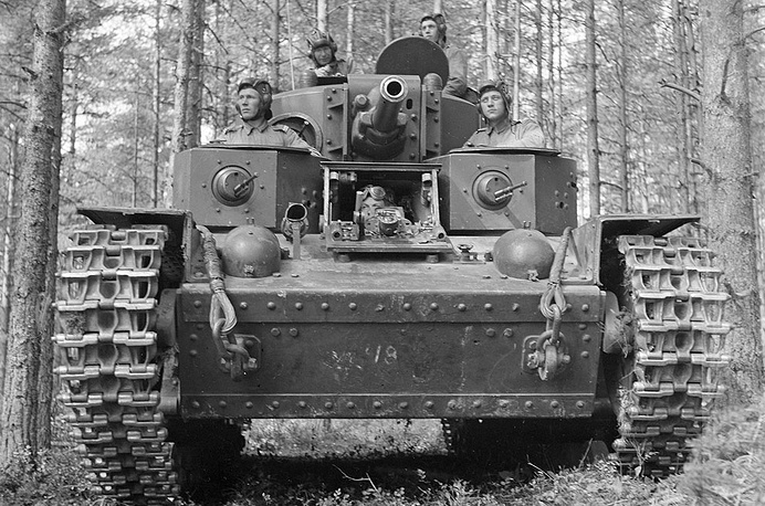Финский танковый экипаж, 8 июля 1941 года