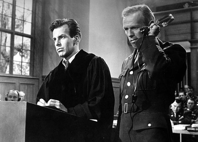"""Кадр из кинофильма """"Нюрнбергский процесс"""". 1961 год"""