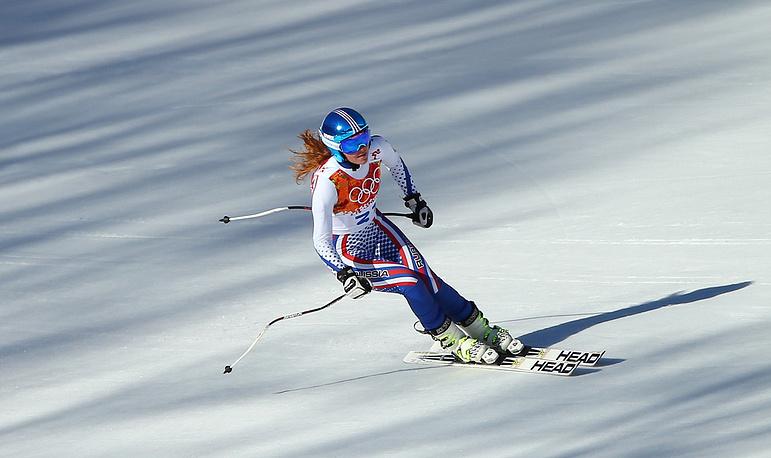 Российская спортсменка Мария Бедарева
