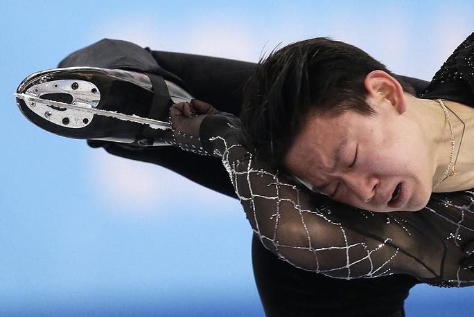 Казахстанский фигурист Денис Тен (84.06)