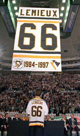 Марио Лемье в первый раз оставляет хоккей, 1997 год