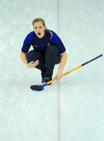 Шведка Кристина Бертрап (37) начала заниматься керлингом в возрасте 13 лет по настоянию отца. Участница Олимпийских игр в Солт-Лейк-Сити в качестве запасной. Чемпионка Европы, серебряный призер Олимпийских игр в Сочи