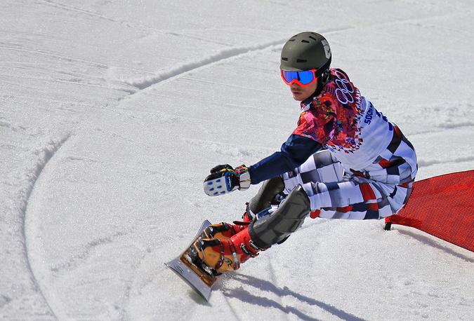 Российский сноубордист Виктор Вайлд выиграл золото Олимпиады-2014 в параллельном слаломе