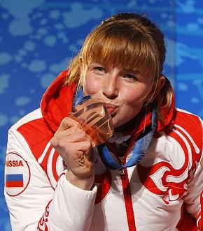 Заслуженный мастер спорта по лыжным гонкам, биатлону и паратриалону Алена Кауфман