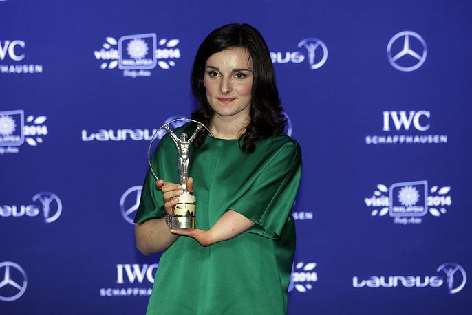 Четырехкратная паралимпийская чемпионка в горнолыжном спорте Мари Боше