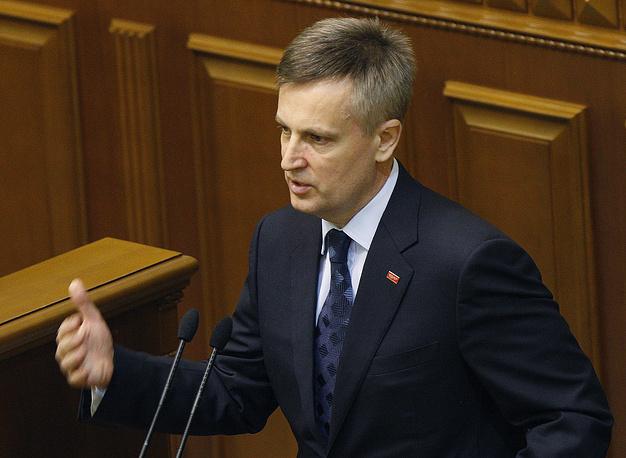 Глава Службы безопасности Валентин Наливайченко