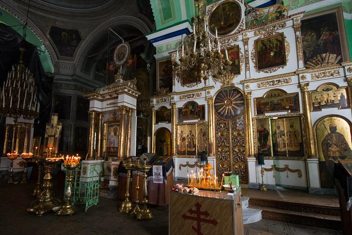 В храме во имя Святителя Николая в Быньгах