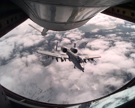 """Операция """"Союзная сила"""" в Югославии, 1999 год. Самолеты НАТО во время боевой операции, 1999 год"""
